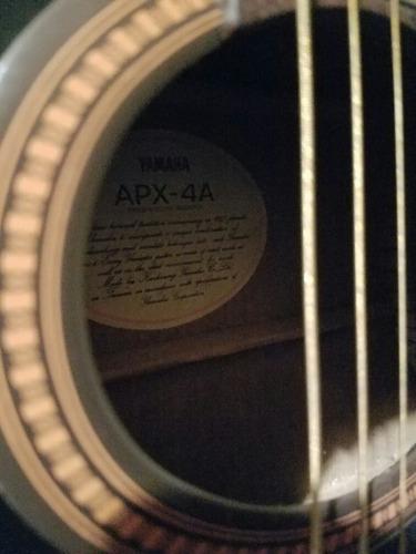 guitarra electroacústica yamaha apx 4a