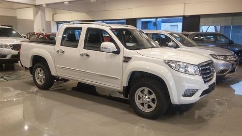 gwm wingle 6 diesel - precio leasing 2018 0km