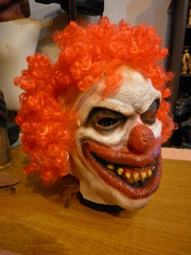 halloween, mascaras en latex