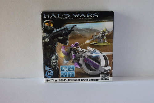 halo wars mega bloks  96845 covenant brute chopper