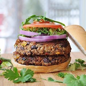 hamburguesas veganas 2 unidades