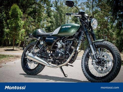 hanway black cafe 150 cc | moto 0km
