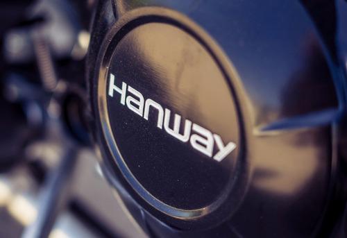 hanway blackcafe caferacer 150 cc única en su estilo euro3