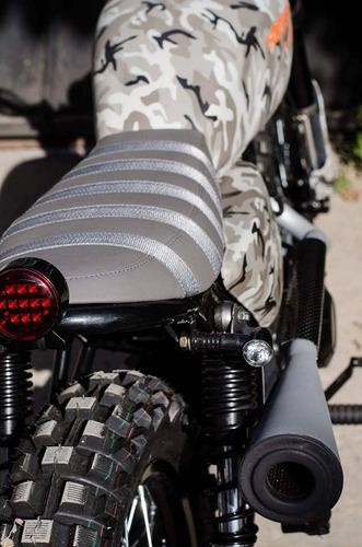 hanway scrambler 125 customizada por dama`s motorcycles
