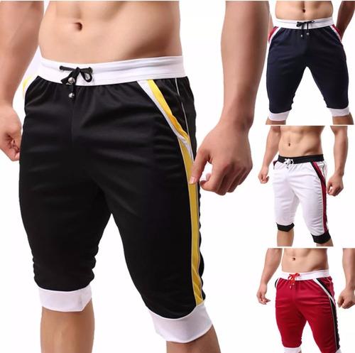 harem gym pants shorts moda japonesa playa slimfit 6 colores