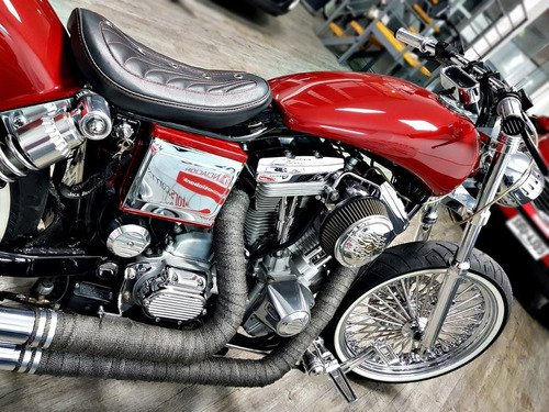 harley davidson dyna super glyde 1340 carburador unica amaya