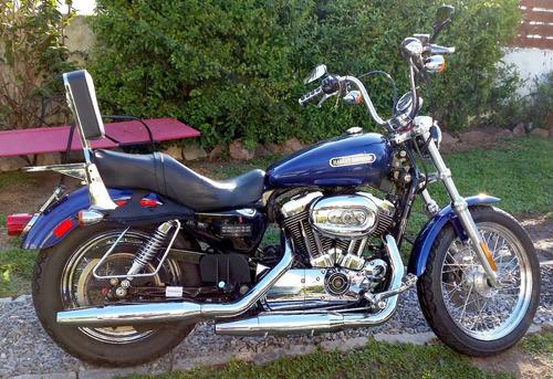 harley sportster custom 2006 -1200cc carburada