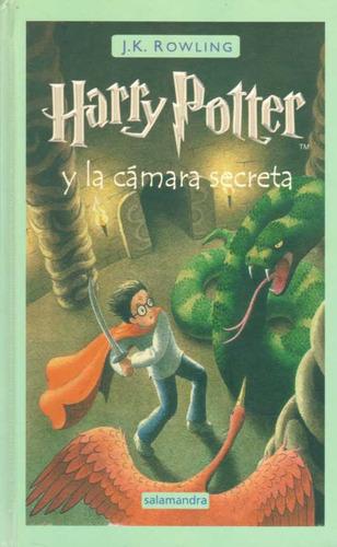 harry potter 2 y la camara secreta. tapa dura - rowling, ...