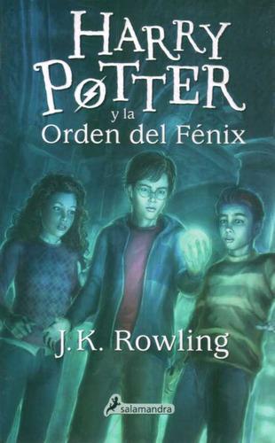 harry potter 5 y la orden del fenix (tapa nueva)  - rowli...