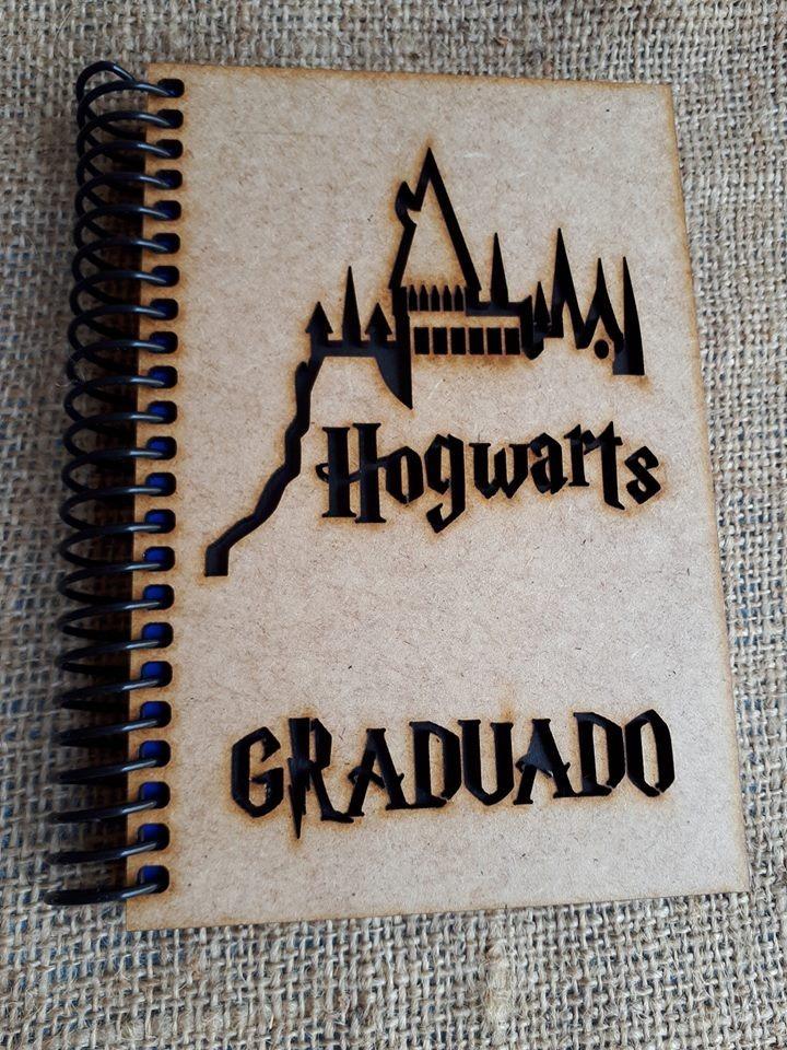 Harry Potter Libretas Mdf