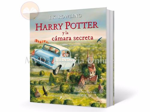 harry potter y la cámara secreta - ilustrado - j. k. rowling