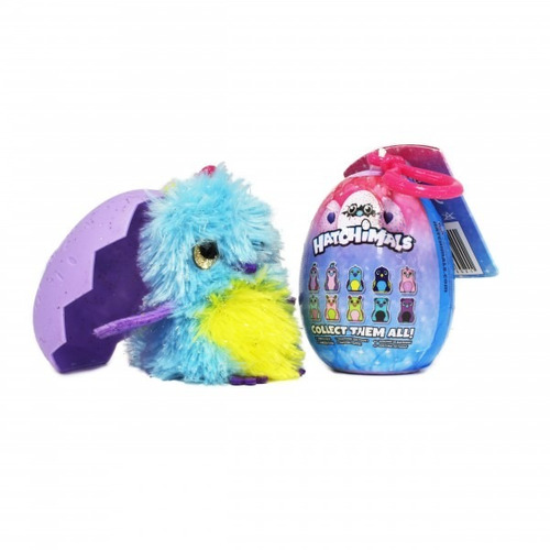 hatchimal personaje plush clip on