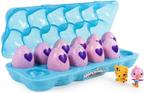 hatchimals figuras colección x 12 huevos sorpresa + colector