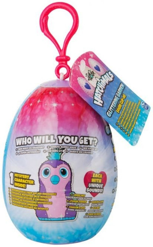 hatchimals huevo con sonido - llavero mascota juguete