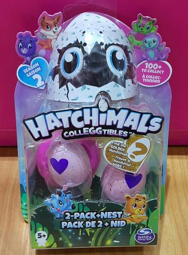 hatchimals x 2 . coleccionables.producto original.