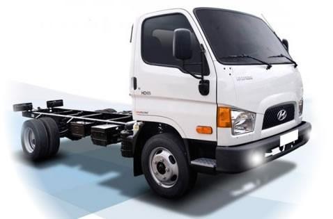 hd65 4.0 ton. chasis / caja / furgon garantia 4 años