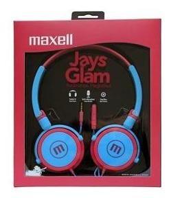 headphones maxell dj jays con mic glam manos libres