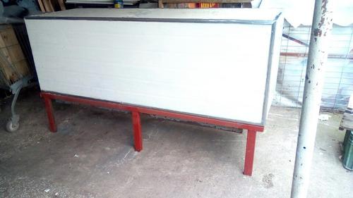 heladera bajo mostrador sin motor