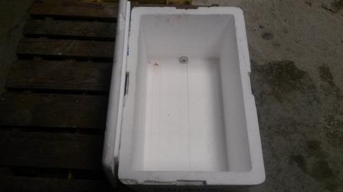 heladera conservadora de espuma plast o tergopol. 65 lts.