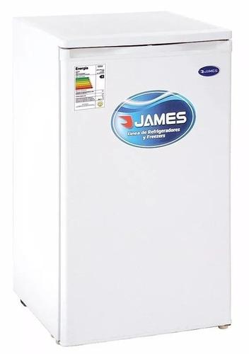 heladeras frigobar james j144k 100 lts c/congelador gtia pcm