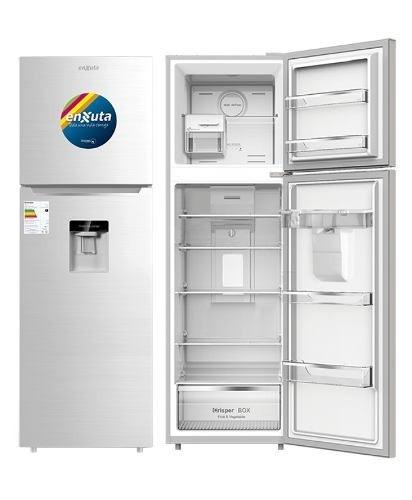 heladeras refrigerador enxuta 275dw blanco con dispensador