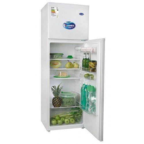 heladeras refrigerador frio humedo james rj25k blanca fama
