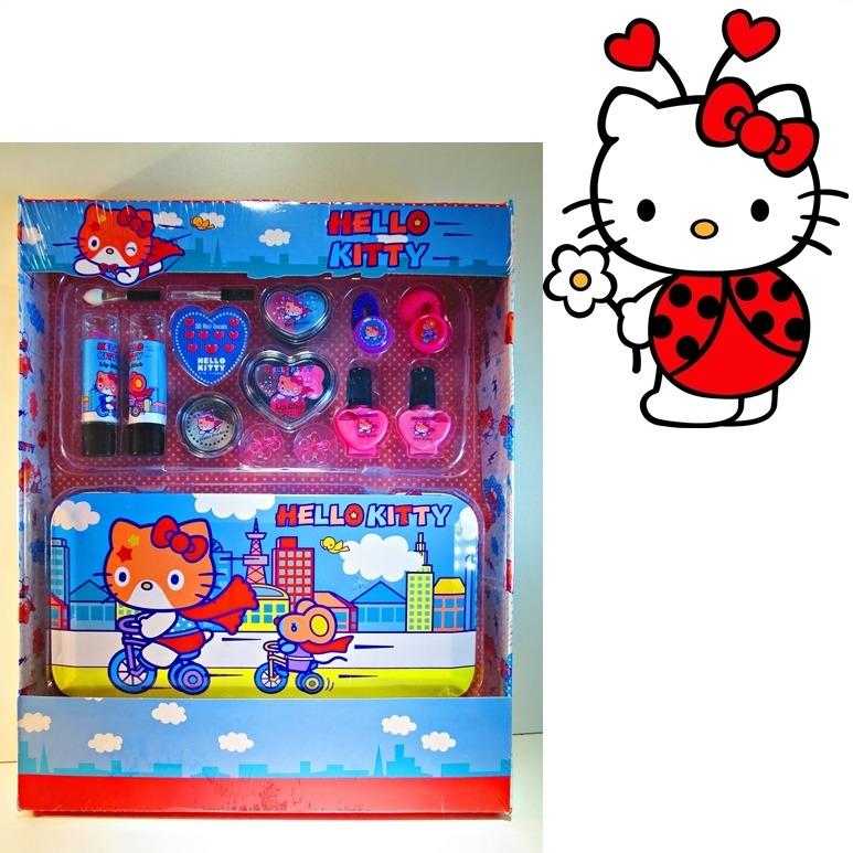 7bcfc5b09 Hello Kitty Set De Maquillaje Original + Envío Gratis - $ 299,00 en ...