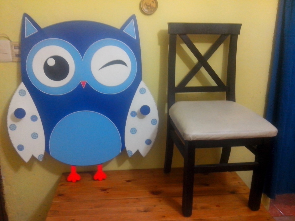 Hermoso perchero infantil para decorar dormitorio en mercado libre - Perchero infantil pared ...