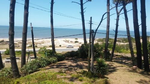 hermoso terreno a la venta las toscas rambla frente al mar
