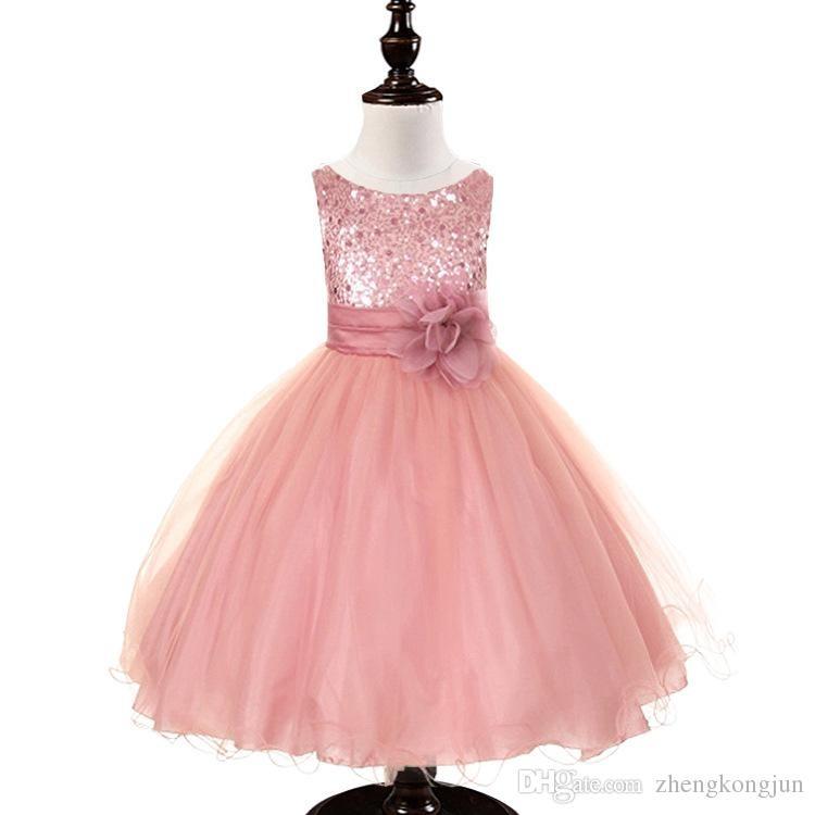 f4026e8526 Hermosos Vestidos De Fiesta Para Niña Niñas -   1.800