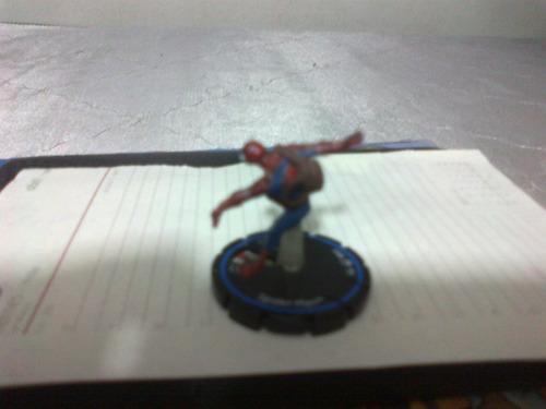 heroclix spider-man con mochila