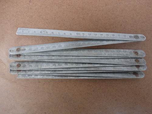 herramienta antigua de aluminio made in englad impecable,