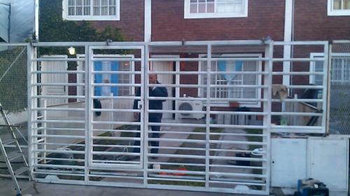 herreria ,rejas portones automatizados,protecion de balcones
