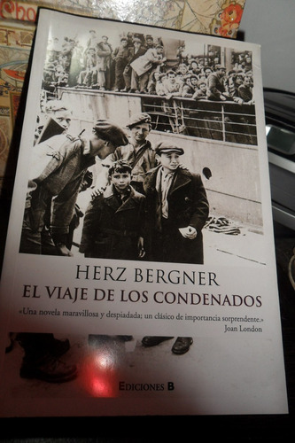 herz bergner el viaje de los condenados novela usado