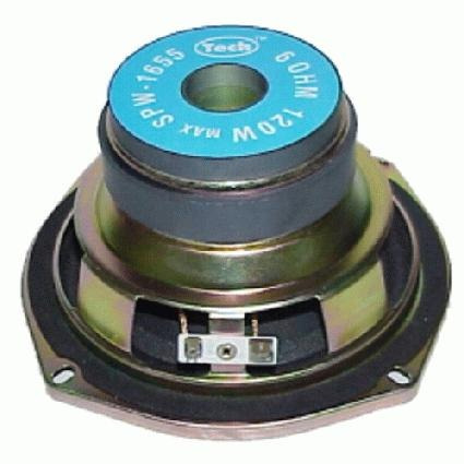 hi-fi woofer 5-1/2  6 ohm dual magnet