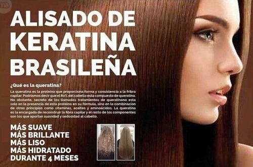 hidrocauterizacion con queratina kerattox alisa el cabello