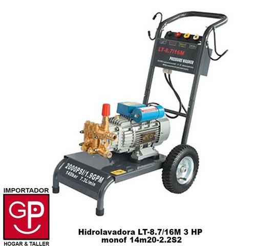 hidrolavadora lt-8.7/16m 3 hp monof 14m20-2.2s2