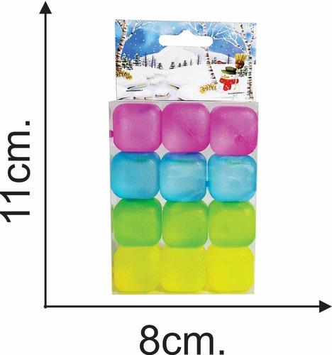 hielo silicona c /gel x 12 pcs en caj 8x11 - el regalón
