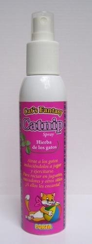 hierba de los gatos para rociar en juguetes,rascadores, etc.