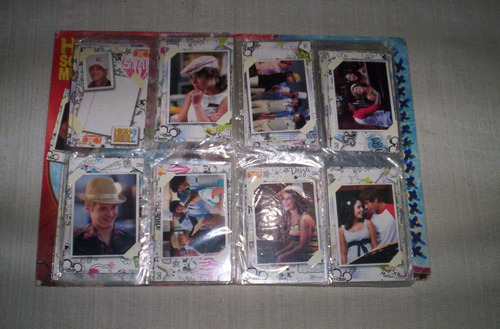 high school musical 2 album de cartas incompleto...