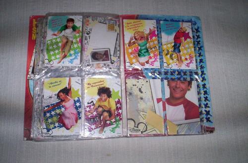 high school musical 2 album de cartas incompleto...
