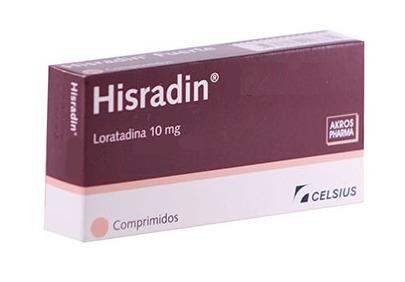 hisradin  10 mg  10 comp