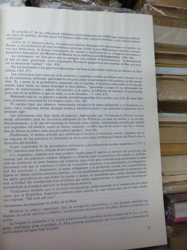 historia del practicaje rioplatense, albino morales