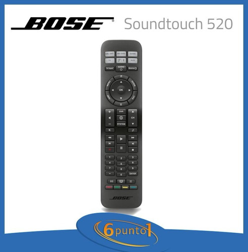 home theater bose® soundtouch® 520 - 5.1 - negro - recoleta