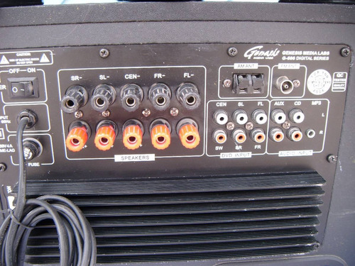 home theater  genesis lab media g-506  5,1 ch  control op4