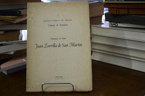 homenaje al poeta juan zorrilla de san martín