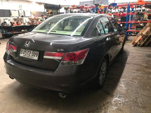 honda accord 3.5 ex-l v6 automático año 2012 único dueño
