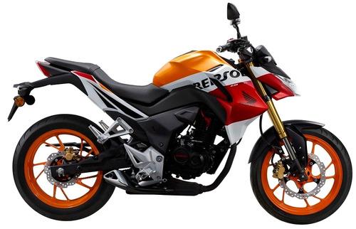 honda cb 190 r repsol financiación 36 cuotas delcar motos