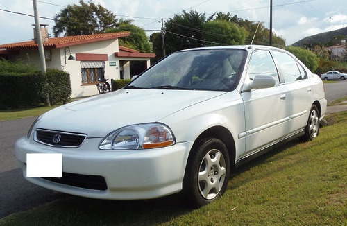 honda civic 1.6 ex vtec 129 hp excelente estado, techo solar