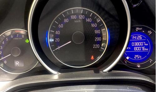 honda fit 2015 automático 38.000 kms - financio hasta 50%